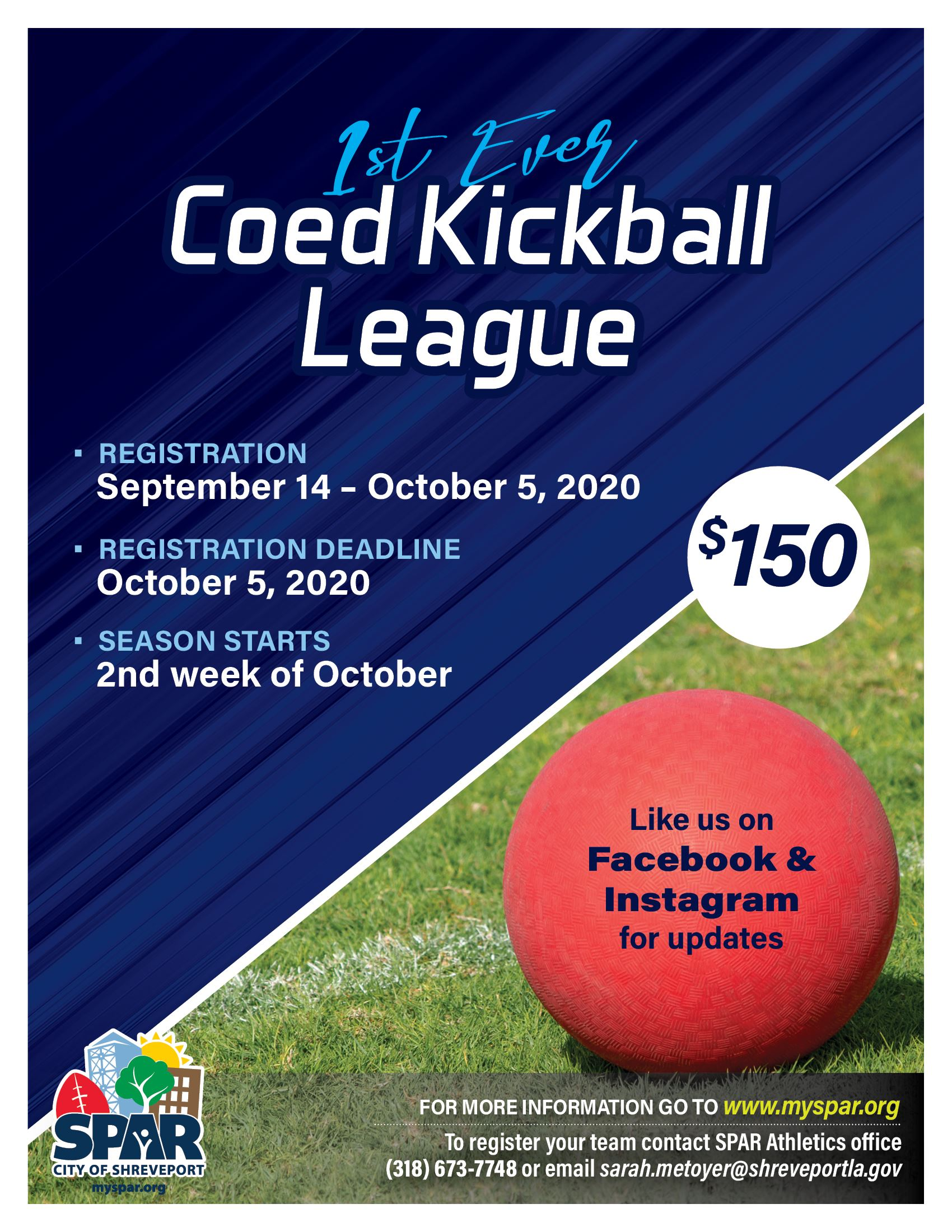 2020 0911 Kickball League
