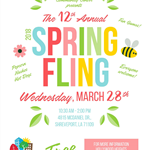 2018 03 Hollywood Heights - Spring Fling - Flyer