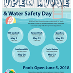 SPAR Pool Open House