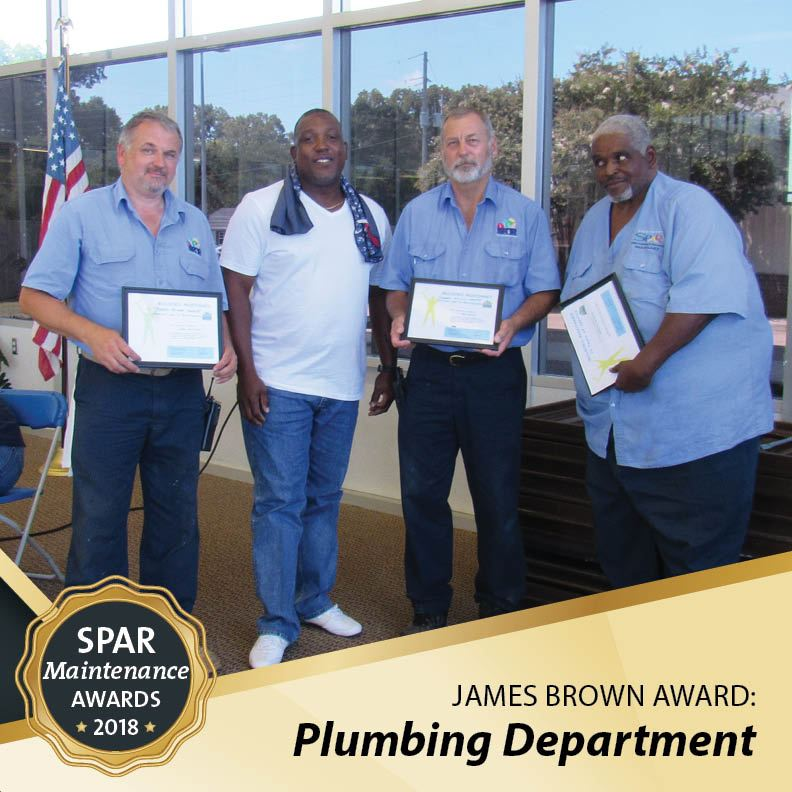 James Brown Award: Plumbing Department