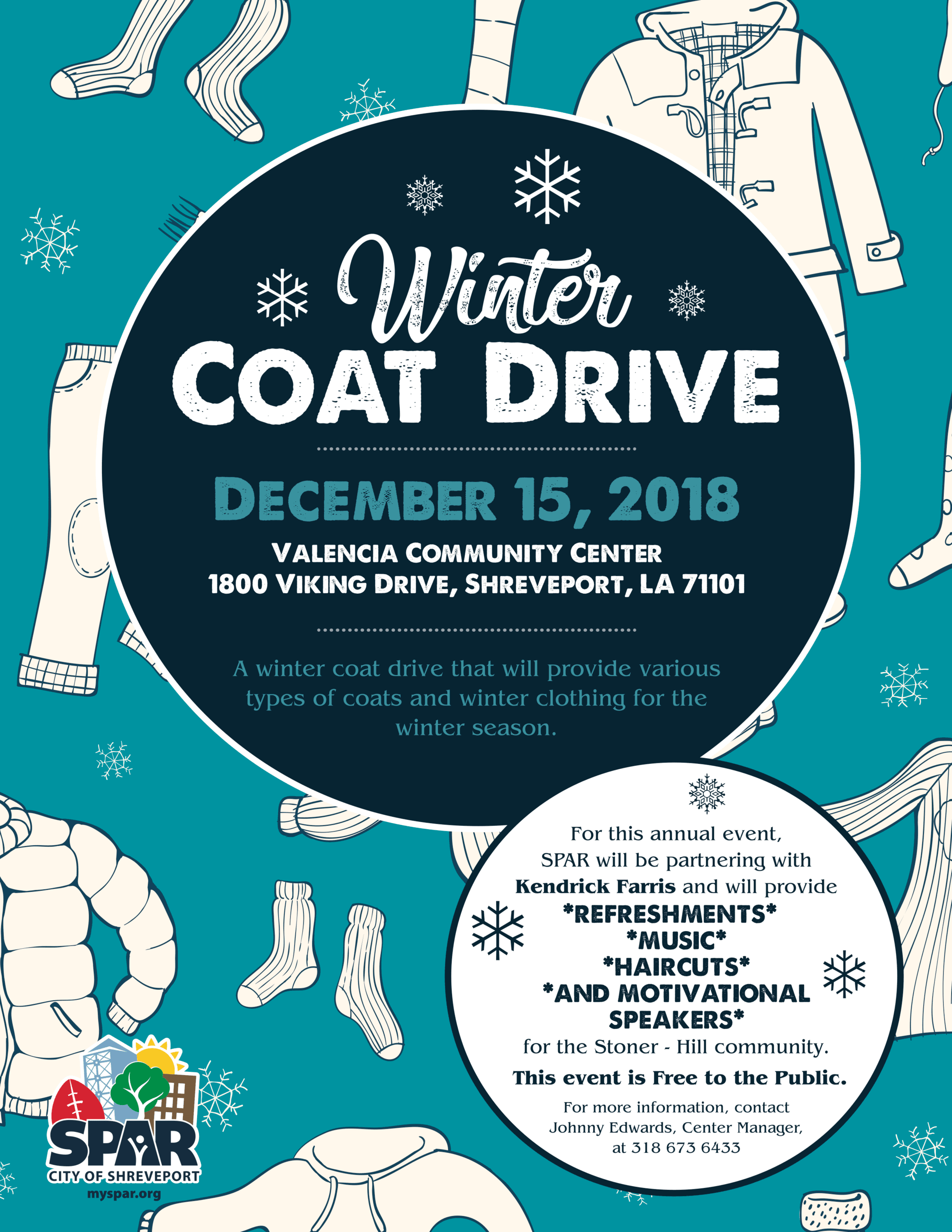 2018 1215 Winter coat drive flyer