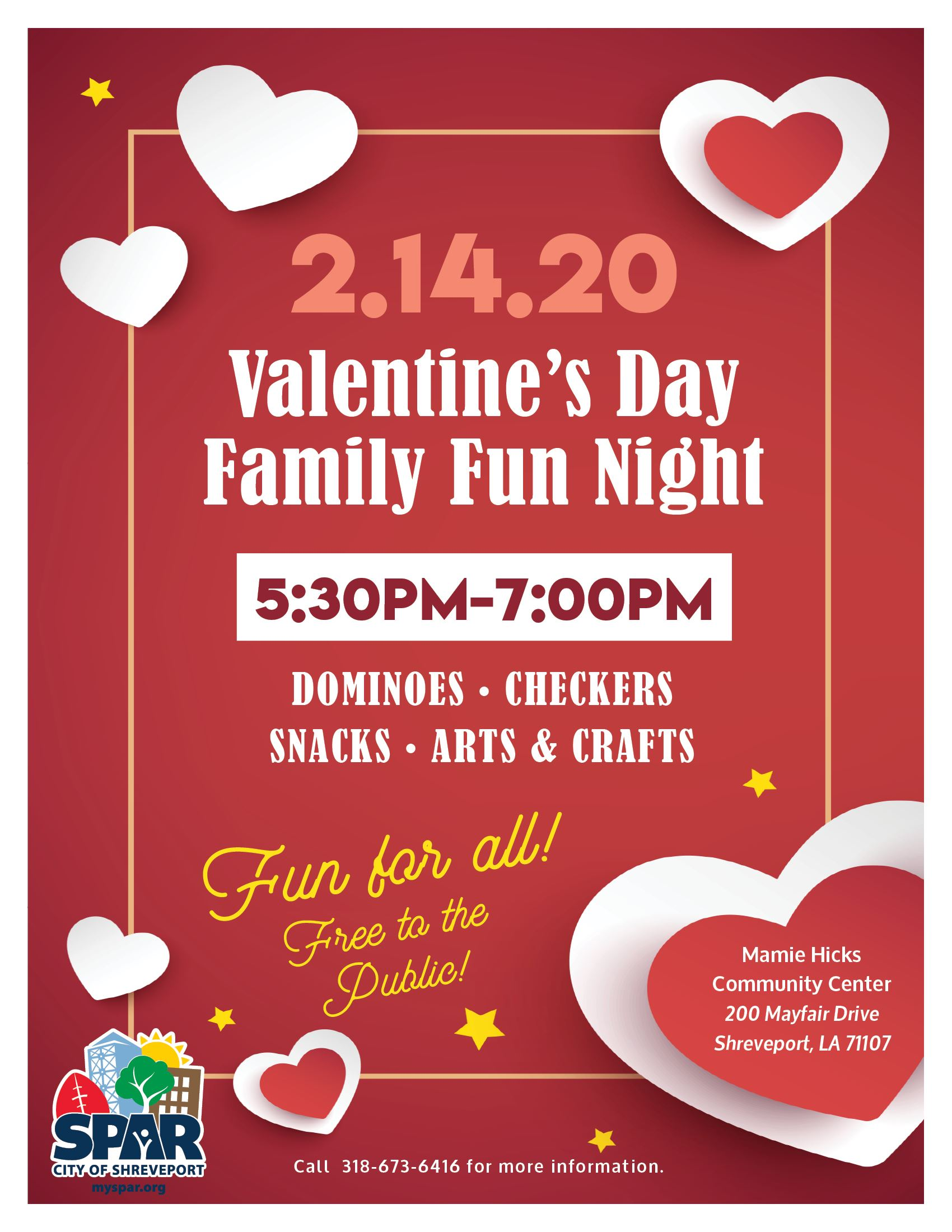 2020 0214 CC-MH Valentine Family Night FB