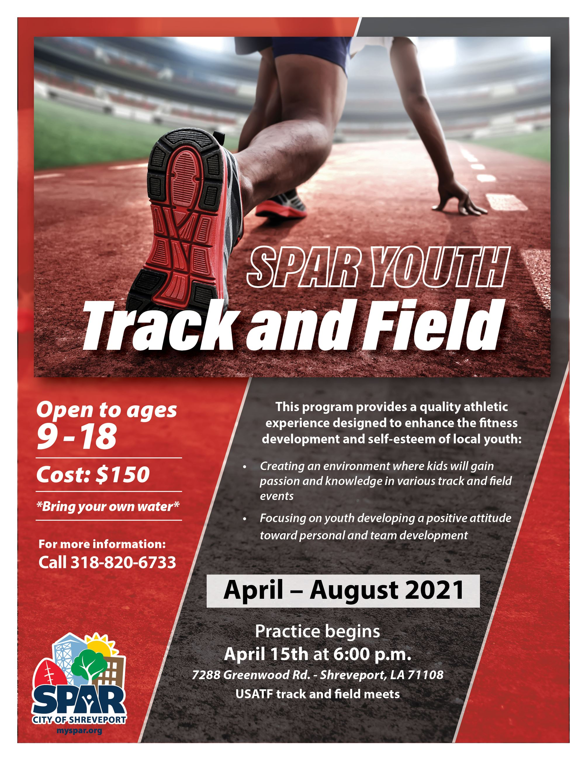 2021 Track and Field practice