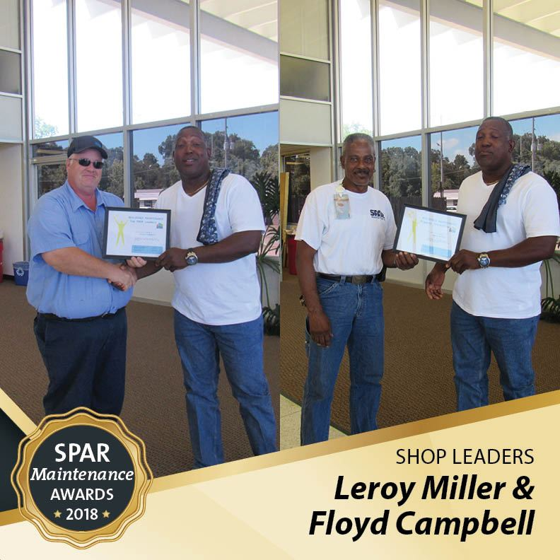 Shop Leaders: Leroy Miller &  Floyd Campbell