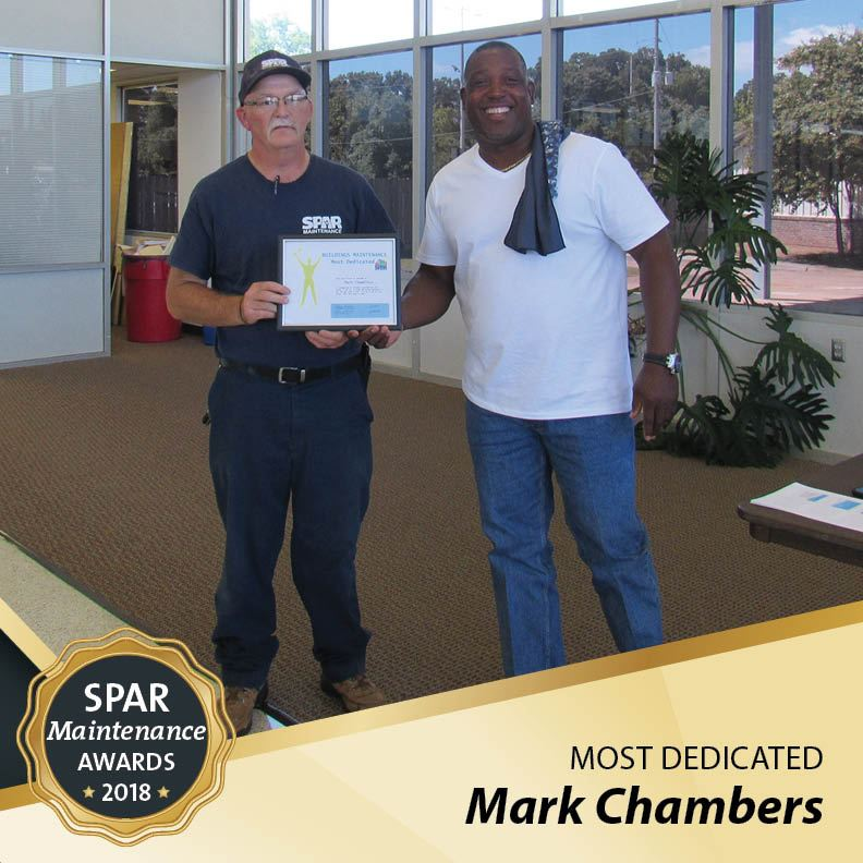 Most Dedicated: Mark Chambers