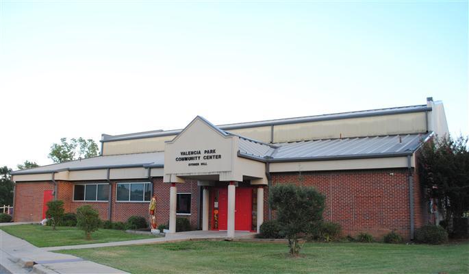 Valencia Park Community Center building