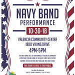 2018 1030 Navy Band Performance