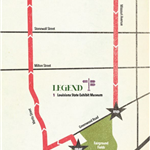 Krewe of Sobek parade map